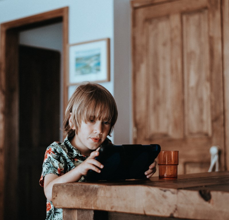 kinderen social media