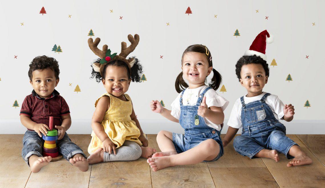 kerst met kinderen