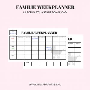 familie weekplanner