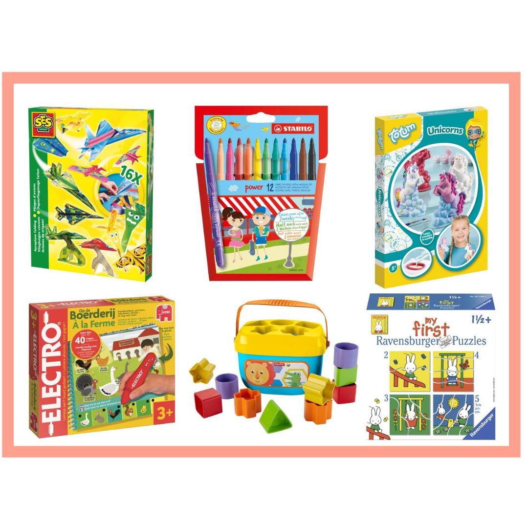 kerscadeau's voor kinderen onder de 10 euro
