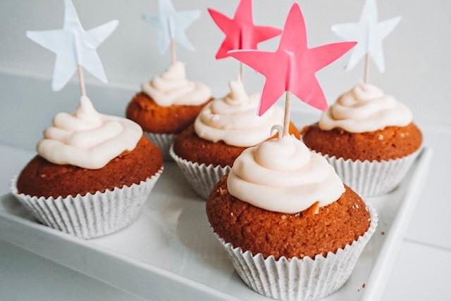 Gender reveal cupcakes zelf maken